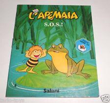 L'APE MAIA (maya bee)  1980 Salani italy  tiny book - libro piccolo - S.O.S.!
