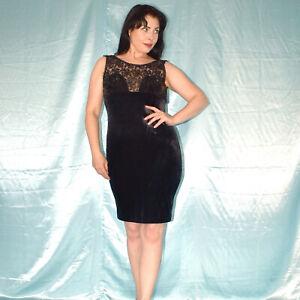 Sequin At Velvet Cocktail Dress M Mini Summer Dress Sheath Dress Evening Dress