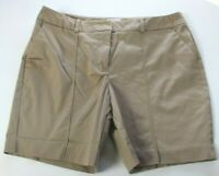 Worthington Modern Fit Size 6 Brown lat Front Dress/Casual Shorts Stretch