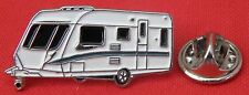 Touring Caravan Metal Lapel Pin Badge Touring Camper Owners Club Camping Brooch