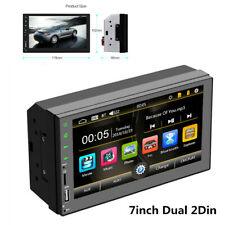 "7"" 2 Din Car Stereo MP5 Player Bluetooth FM Radio USB For Android & IOS 1080P"