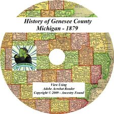 1879 History & Genealogy of GENESEE County Michigan MI, Flint - Burton - Family