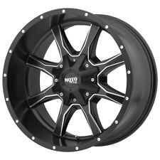 "Moto Metal MO970 20x9 6x135/6x5.5"" +18mm Black/Milled Wheel Rim 20"" Inch"