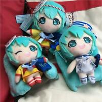 Hatsune Miku Summer Image Plush Mascot set of 3 complete Yukata Marine TAITO