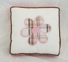 "Bananafish Baby Grace Collection Decorative Pillow 10"" x 10"" NWT"