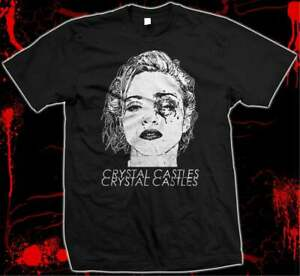 Crystal Castles - Madonna Bruised -Pre-shrunk, hand screened 100% cotton t-shirt