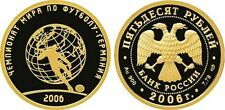 50 Rubel Russland PP 1/4 Oz Gold 2006 FIFA Football World Cup in Germany Proof