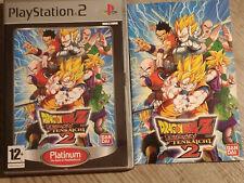 DBZ DRAGON BALL Z BUDOKAI TENKAICHI 2 PLAYSTATION 2 PS2