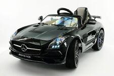 Mercedes SLS AMG Final Edition 12V Kids Ride-On Car R/C Parental Remote | Black