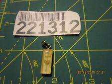 VINTAGE  STERLING BRACELET CHARM lucite dried flowed pendant