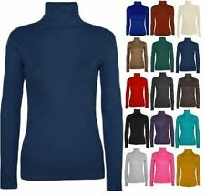 Women's Viscose Polo Neck Jumpers & Cardigans