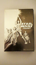 Star Wars Trilogy (DVD, 2004, 4-Disc Set, Widescreen) FREE SHIPPING - GREAT
