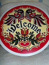 """CONESTOGA CRAFTS Hex Sign, 15"""" Double Welcome"""