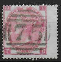 SG92. 3d.Rose Plate 4. Clean Stamp-Both Sides. Full Perfs. Cat.£210.  Ref.0898