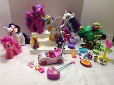 MY LITTLE PONY LOT B OF PONIES, TY PLUSH, TREE HOUSE, RC CAR, & MORE