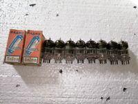 10x 6N2P Vintage Tubes  6AX7 ~ ECC83 ~ 12AX7 / 6.3V / New / Tested!