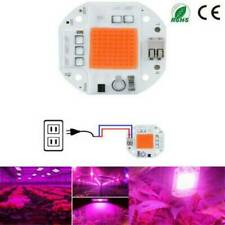 100W Full Spectrum LED COB Chip Grow Light Plant Growing Lamp 50W 70W 110V/220V