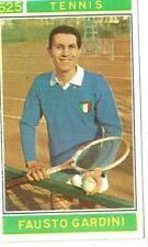 Figurina Campioni dello Sport Panini 1967-68 n.525! Fausto Gardini Tennis Ottima
