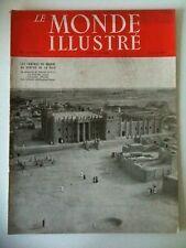 Le Monde Illustré 30/08/1947  Caméras de Guerre en Paix