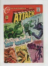 ATTACK #2 F/VF, Charlton war, Jack Keller cover & art, Charlton war, 1971 sweet