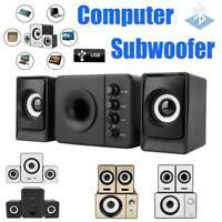 Mini SADA Computer Speakers 2.1 USB Bluetooth Subwoofer for Desktop PC Laptop