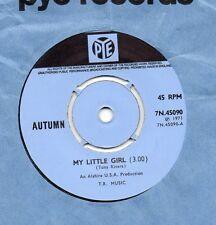 AUTUMN my little girl*sun sunshine 1971 UK PYE 45