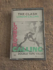 THE CLASH - LONDON CALLING - CULT POST PUNK BAND!!!! - K7 IN NM CONDITION,RARE!!