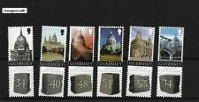 Guernsey 2008 St. Paul's Cathedral Unique Unusual Real granite powder on stamps