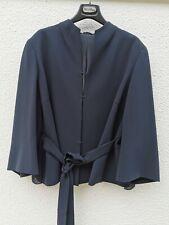 🌟MR by MAX MARA Blue Triacetate Plisse' Jacket  12USA_46IT_42D_ 44FR_14UK_ MR17