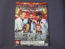 "BACKSTREET BOYS ""IN A WORLD LIKE THIS JAPAN TOUR 2013"" JAPAN 2-DVD *SEALED*"