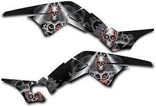 HONDA TRX250R GRAPHICS DECAL KIT TURBO CHARGED TRX 250 R STICKER Black
