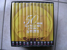 COFANETTO DVD     50 ANNI DEL PALLONE D'ORO
