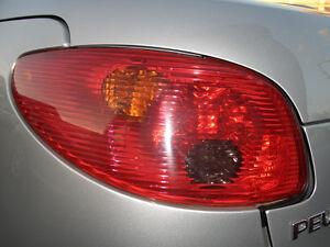 Feu Arrière / Peugeot 206 Cc
