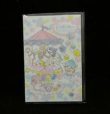 Sanrio Little Twin Stars Stickers - Merry Go Round Edition Post It Sticky Tabs