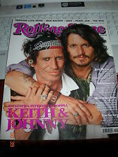 ROLLING STONE 44 2007 KEITH RICHARDS JOHNNY DEEP JEFF BUCKLEY IRON MAIDEN OZZY