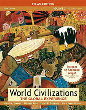 World Civilizations The Global Experience Volume 2 Atlas Edition Stearns Adas