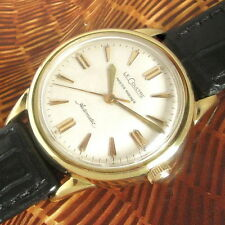 Mens 1950s Jaeger LeCoultre MASTER MARINER 10K GF Automatic Cal. 476 Swiss Watch