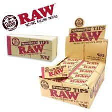 Raw Filter Tips ungebleicht Perforiert Wide 50 Blätter je Heftchen Zigaretten