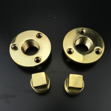 2PCS Boat Garboard Drain Plug Cast Bronze Fits 1 Inch Diameter Hole 1/2''NPT Kit