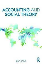 Accounting and Social Theory: An introduction by Lisa Jack (Paperback, 2016)