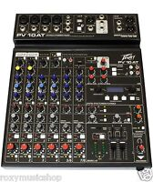 New Peavey PV10 AT 10 Channel Mixer with Auto-Tune and Bluetooth