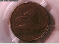 1857 Flying Eagle Cent PCGS VF 30 24824801 Video