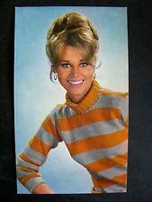 Ancienne Carte Postale Jane Fonda Année 60