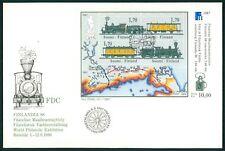 FINNLAND FDC 1988 EISENBAHN TRAIN RAILWAY LOK RAILROAD z2286