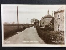 More details for rp vintage postcard - lincolnshire #c19 - cemetery lane, laceby - raphael tucks