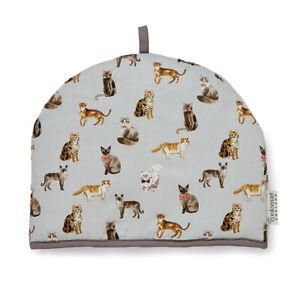 Cooksmart Curious Cats Tea Cosy Teapot Warmer Cover Cute Animals Pets Gift