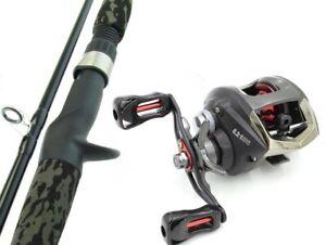 SARATOGA BARRA 6'0 12kg Baitcaster Fishing Rod and Reel Combo Baitcast