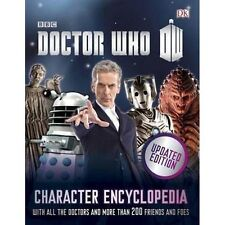 THE DOCTOR WHO CHARACTER ENCYCLOPEDIA HARDCOVER UPDATED EDITION DR AS NEW BOOK