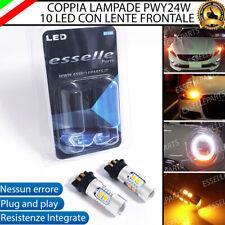 COPPIA LAMPADE INDICATORI DIREZIONE FRECCE ANTERIORI LED PWY24W PEUGEOT 3008 SUV