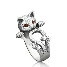 Cute Kitten Wrap Ring  - Ginger Lyne Collection
